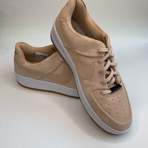 Nike Women's Air Force 1 Beige Suede AR5339-203